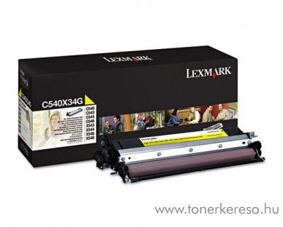 Lexmark C540/X543 eredeti yellow developer unit C540X34G