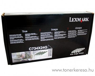 Lexmark C734/X734 eredeti drum kit C734X24G Lexmark C736dn lézernyomtatóhoz