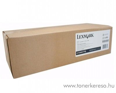Lexmark C734/X734 eredeti waste toner C734X77G Lexmark C736n lézernyomtatóhoz