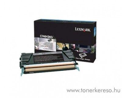 Lexmark C746/748 eredeti nagykap. black toner C746H3KG Lexmark C746dtn lézernyomtatóhoz