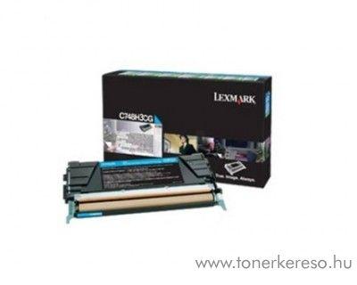 Lexmark C748 eredeti nagykap. cyan toner C748H3CG Lexmark C748dte lézernyomtatóhoz