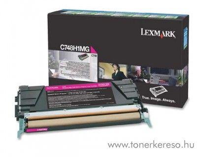 Lexmark C748 eredeti nagykap. magenta toner C748H1MG Lexmark C748dte lézernyomtatóhoz