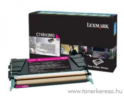 Lexmark C748 eredeti nagykap. magenta toner C748H3MG Lexmark C748dte lézernyomtatóhoz