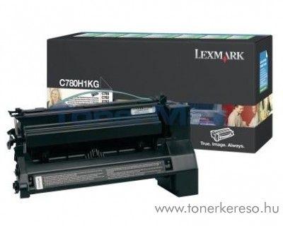 Lexmark C780/X782 eredeti fekete black toner C780H1KG