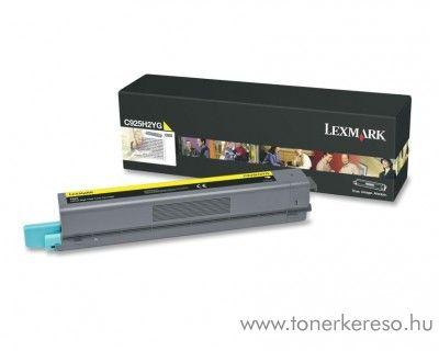 Lexmark C925 eredeti nagykap. yellow toner C925H2YG Lexmark C925dte lézernyomtatóhoz