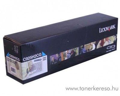 Lexmark C925/X925 eredeti cyan toner C925H2CG Lexmark C925de lézernyomtatóhoz