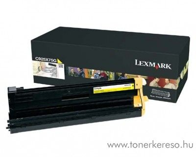 Lexmark C925/X925 eredeti yellow image unit C925X75G