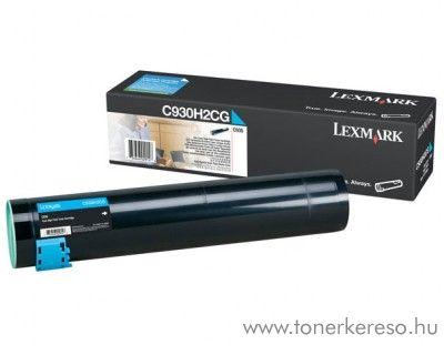 Lexmark C935 eredeti cyan toner C930H2CG Lexmark C935dttn lézernyomtatóhoz