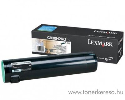 Lexmark C935 eredeti fekete black toner C930H2KG Lexmark C935dtn lézernyomtatóhoz