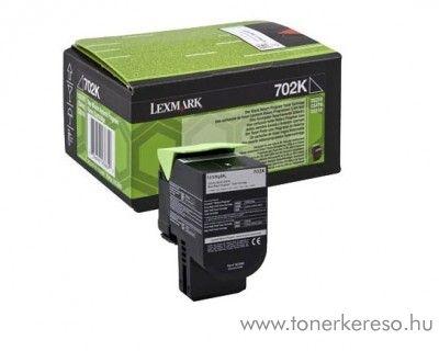 Lexmark CS310/410/510 eredeti black toner 70C2HKE Lexmark CS410n lézernyomtatóhoz