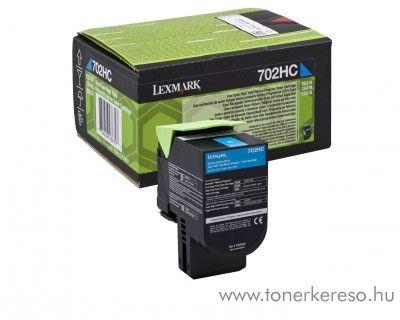 Lexmark CS310/410/510 eredeti cyan toner 70C2HC0 Lexmark CS410dtn lézernyomtatóhoz