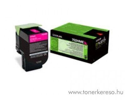 Lexmark CS310/410/510 eredeti magenta toner 70C2HME Lexmark CS410n lézernyomtatóhoz