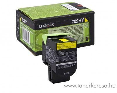 Lexmark CS310/410/510 eredeti yellow toner 70C2HY0 Lexmark CS410n lézernyomtatóhoz