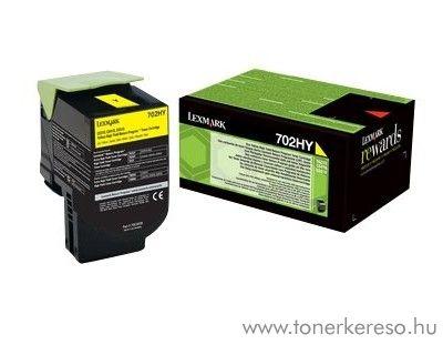 Lexmark CS310/410/510 eredeti yellow toner 70C2HYE Lexmark CS410dtn lézernyomtatóhoz