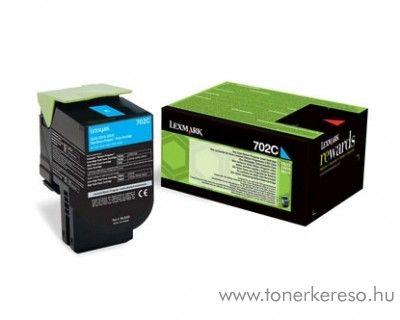 Lexmark CS310n/CS410n (702C) eredeti cyan toner 70C20C0 Lexmark CS510dte lézernyomtatóhoz