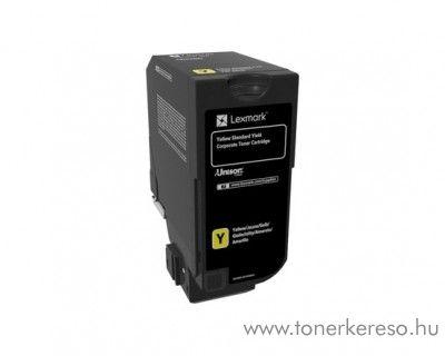 Lexmark CS720de/CS725de eredeti yellow toner 74C2SYE Lexmark CX725dthe lézernyomtatóhoz