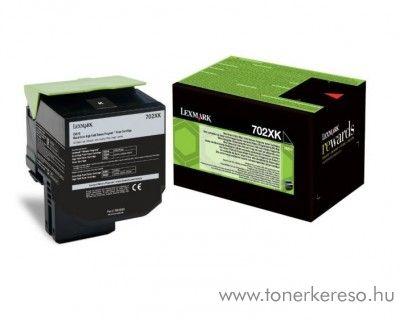 Lexmark CS 510 eredeti black toner 70C2XK0 Lexmark CS510de  lézernyomtatóhoz