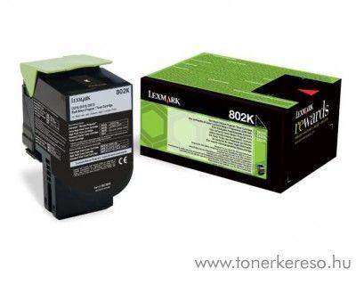 Lexmark CX310/410/510 eredeti black toner 80C20K0 Lexmark CX310n lézernyomtatóhoz