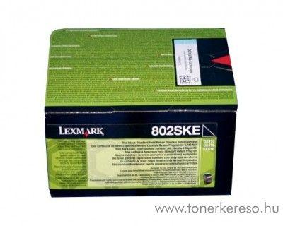 Lexmark CX310n/CX410e eredeti black toner 80C2SKE Lexmark CX510de lézernyomtatóhoz