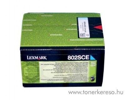Lexmark CX310n/CX410e eredeti cyan toner 80C2SCE Lexmark CX510de lézernyomtatóhoz