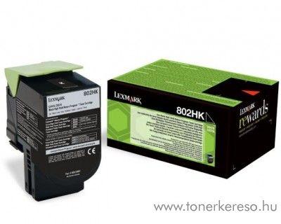 Lexmark CX510 eredeti nagy kap. black toner 80C2HK0 Lexmark CX510dhe lézernyomtatóhoz