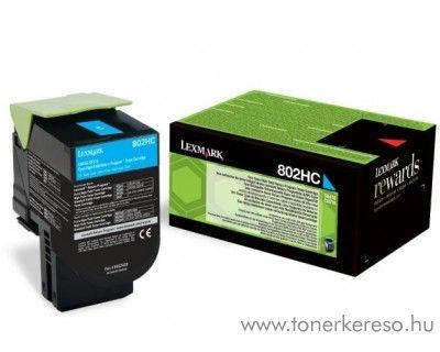 Lexmark CX510 eredeti nagy kap. cyan toner 80C2HC0 Lexmark CX510de lézernyomtatóhoz