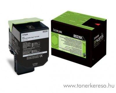Lexmark CX510 eredeti extra nagy kap. black toner 80C2XK0 Lexmark CX510dhe lézernyomtatóhoz