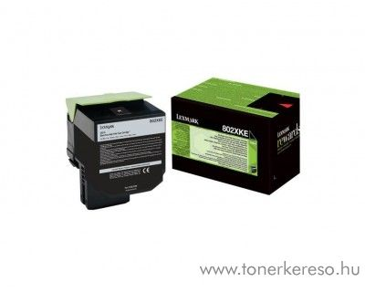 Lexmark CX510de/CX510dhe eredeti black toner 80C2XKE Lexmark CX510dhe lézernyomtatóhoz