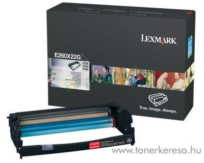 Lexmark E26x/36x/460 eredeti drum E260X22G