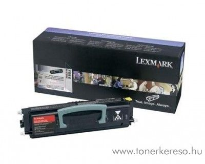 Lexmark E330/E340 eredeti black toner 34040HW
