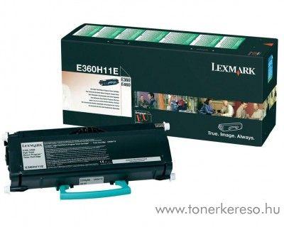 Lexmark E36x/460 eredeti black toner E360H11E