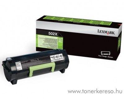 Lexmark MS310(502X) eredeti extra nagy kap. black toner 50F2X00