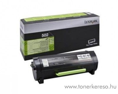 Lexmark MS310(502) eredeti black toner 50F2000 Lexmark MS610dn lézernyomtatóhoz