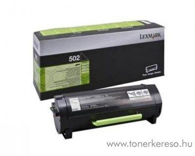 Lexmark MS310(502) eredeti black toner 50F2000