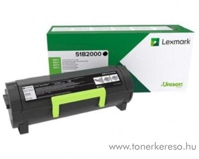 Lexmark MS317 eredeti black toner 51B2000