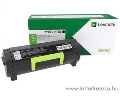 Lexmark MS317 eredeti black toner 51B2H00
