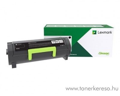 Lexmark MS421dw/MX521de eredeti black toner 56F2H00
