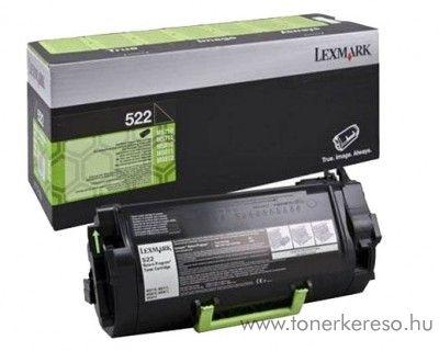 Lexmark MS810/811/812(522) eredeti black toner 52D2000