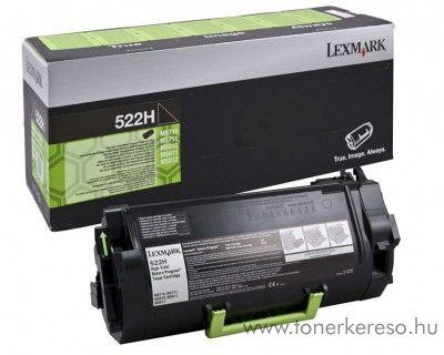 Lexmark MS810/811/812(522H) eredeti nagykap. black toner 52D2H00