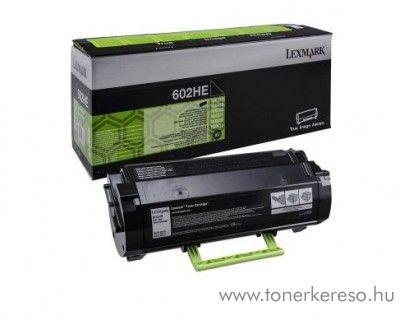 Lexmark MX310/MX510/MX611(602HE) eredeti black toner 60F2H0E