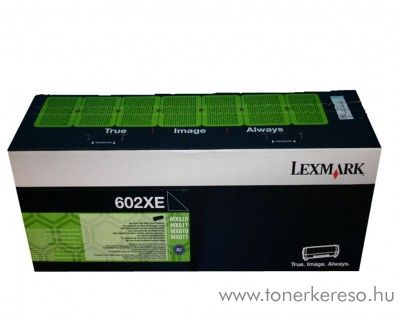 Lexmark MX510 (602X) eredeti extra nagykap. fekete toner 60F2X0E Lexmark MX611dhe lézernyomtatóhoz