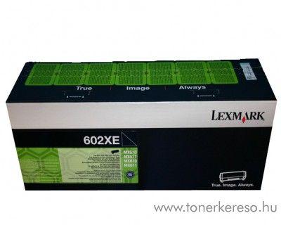 Lexmark MX510/610 eredeti extra nagykap. fekete toner 60F2X0E