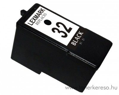 Lexmark no. 32 kompatibilis tintapatron GILX32 Lexmark X5270 tintasugaras nyomtatóhoz