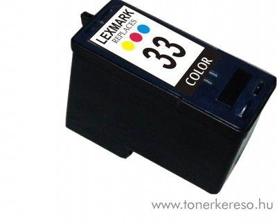 Lexmark no. 33 kompatibilis tintapatron GILX33