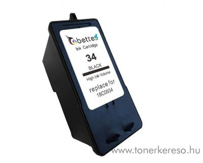 Lexmark no. 34 kompatibilis tintapatron GILX34