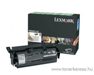 Lexmark T650/652/654 eredeti black toner 650H11E Lexmark T654dn lézernyomtatóhoz