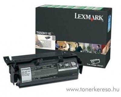 Lexmark T650/652/654 eredeti toner fekete T650H11E