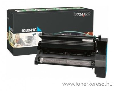 Lexmark Toner 10B041C cyan Lexmark C750N Color Laser Printer lézernyomtatóhoz