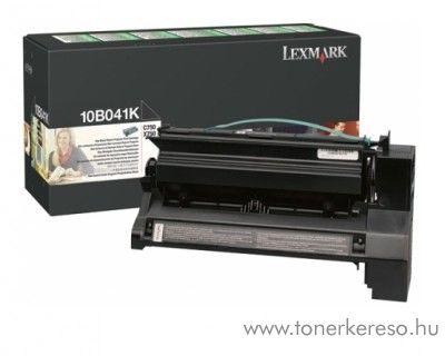 Lexmark Toner 10B041K fekete Lexmark C750 Color Laser Printer lézernyomtatóhoz