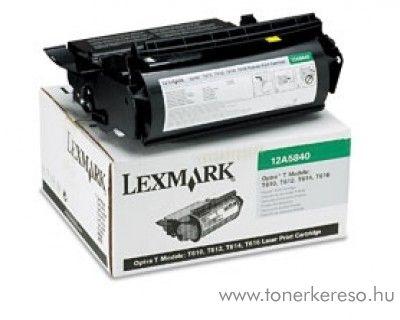 Lexmark Toner 12A5840 Lexmark Optra T612N MICR lézernyomtatóhoz
